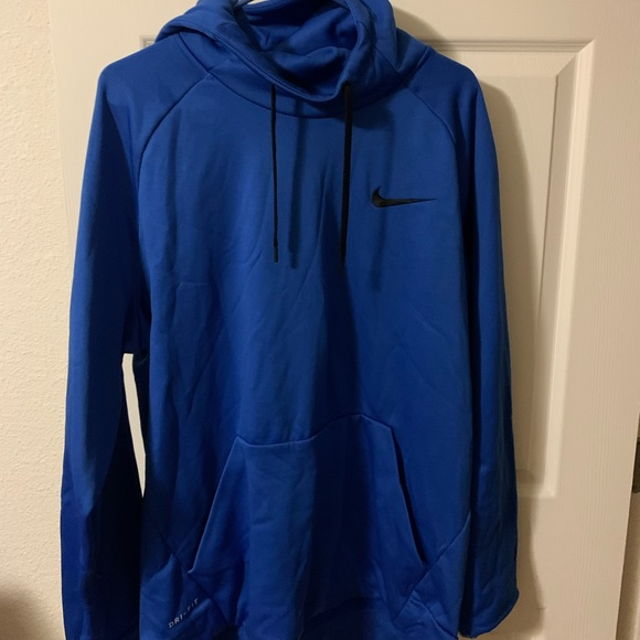 Nike Other - Men's blue hoodie XL